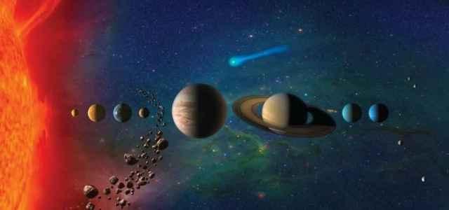 Sistema solare rappresentazione lapresse 2020 640x300