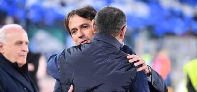 Simone Inzaghi Sarri Lazio Juventus lapresse 2020 640x300