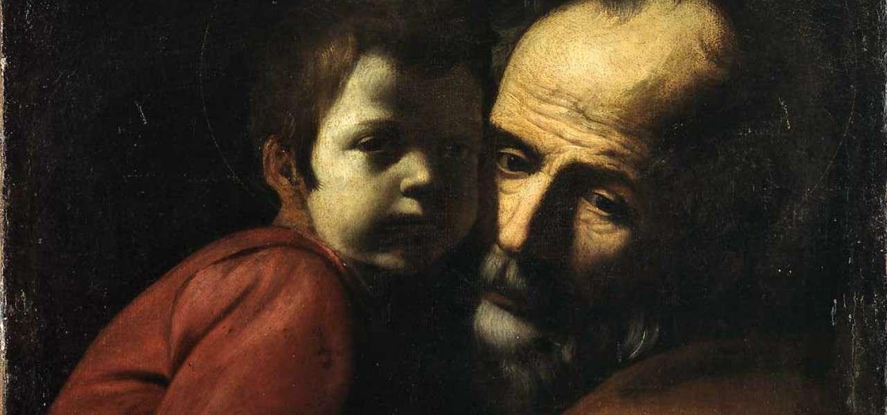 battistellocaracciolo giuseppe cristo bambino arte1280