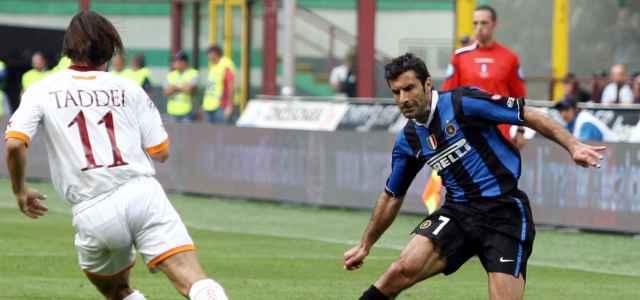 Figo Taddei Inter Roma lapresse 2020 640x300