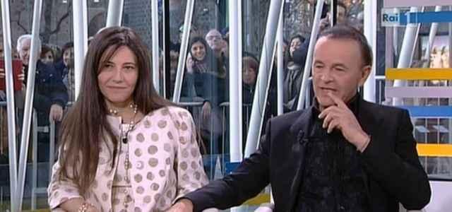 Dodi Battaglia in compagnia della moglie Paola Toeschi