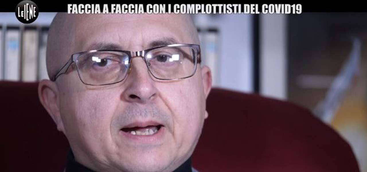 """Rosario Marcianò """"interdetto uso Internet""""/ Complottista vs iena ..."""