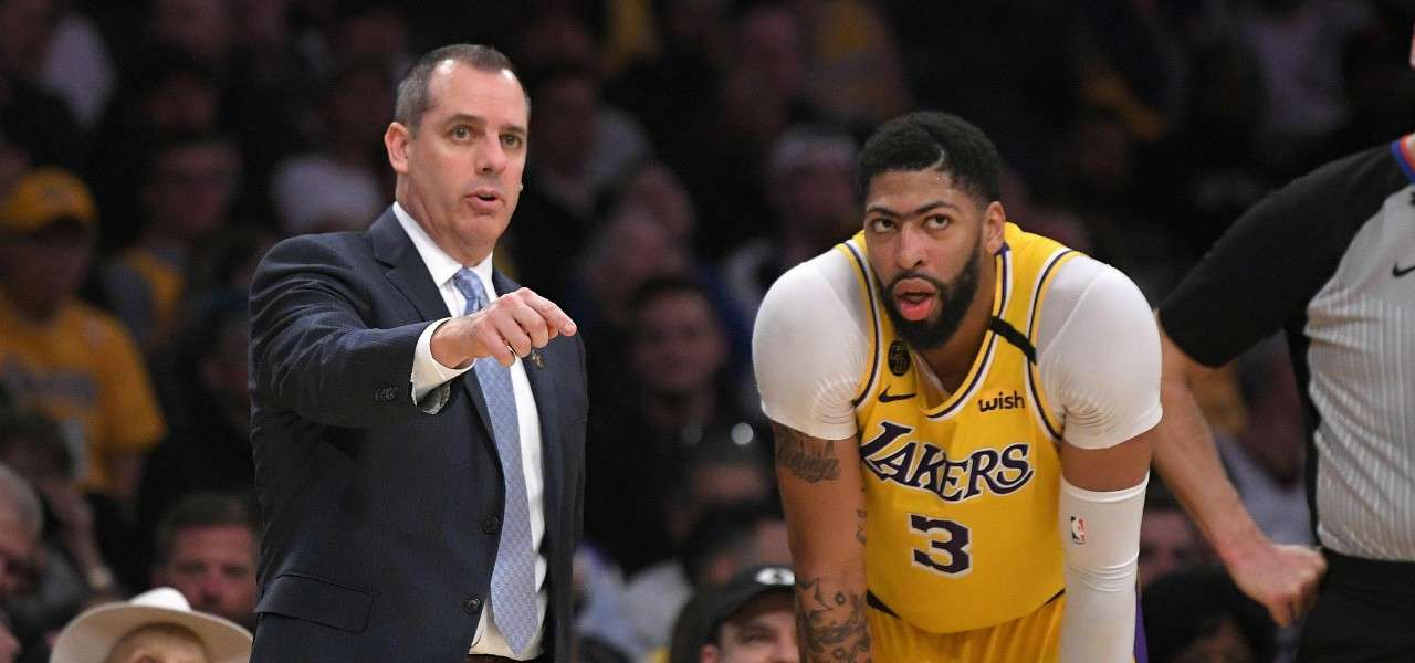 Frank Vogel Anthony Davis Lakers lapresse 2020