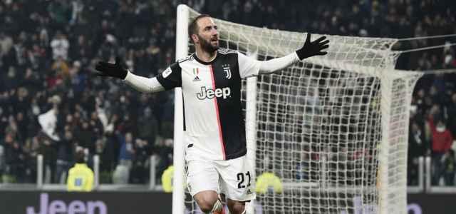 Gonzalo Higuain gol Juventus Udinese lapresse 2020 640x300