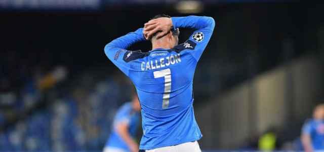 Jose Callejon Napoli disperazione Champions lapresse 2020 640x300