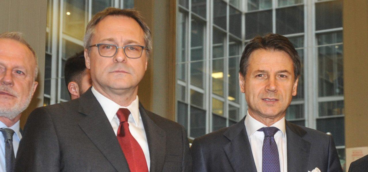 Carlo Bonomi e Premier Conte