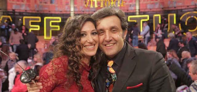 Adriana Riccio e Flavio Insinna ad 'Affari tuoi'