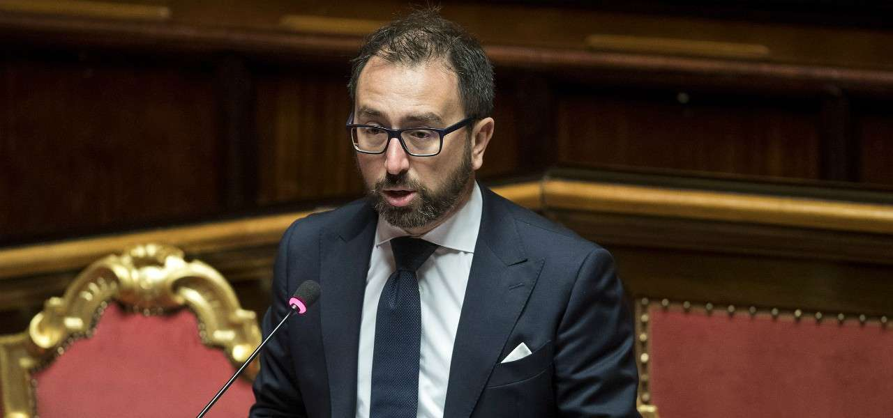 Alfonso Bonafede Senato lapresse 2020