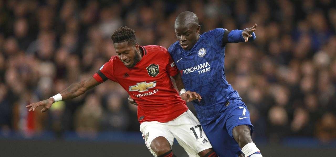 Fred Kante Manchester United Chelsea lapresse 2020