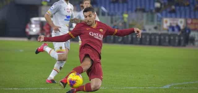 Lorenzo Pellegrini Roma allungo lapresse 2020 640x300