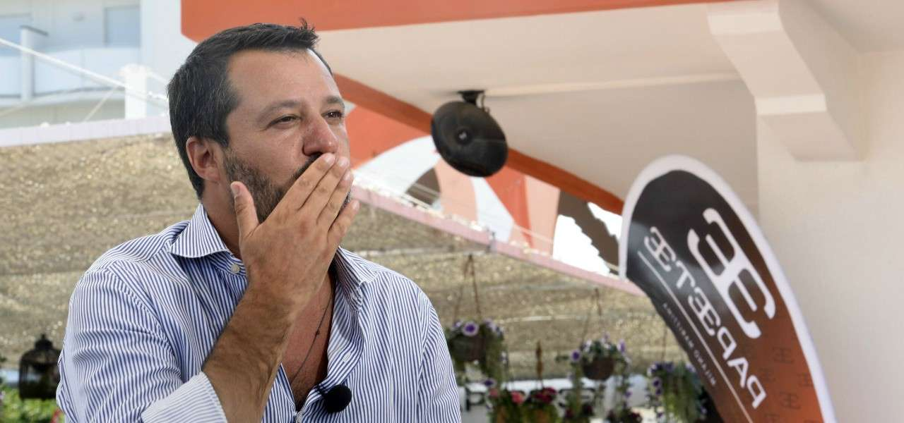 Matteo Salvini Papeete lapresse 2020