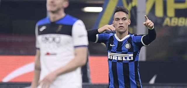 Lautaro Martinez gol Inter Atalanta lapresse 2020 640x300