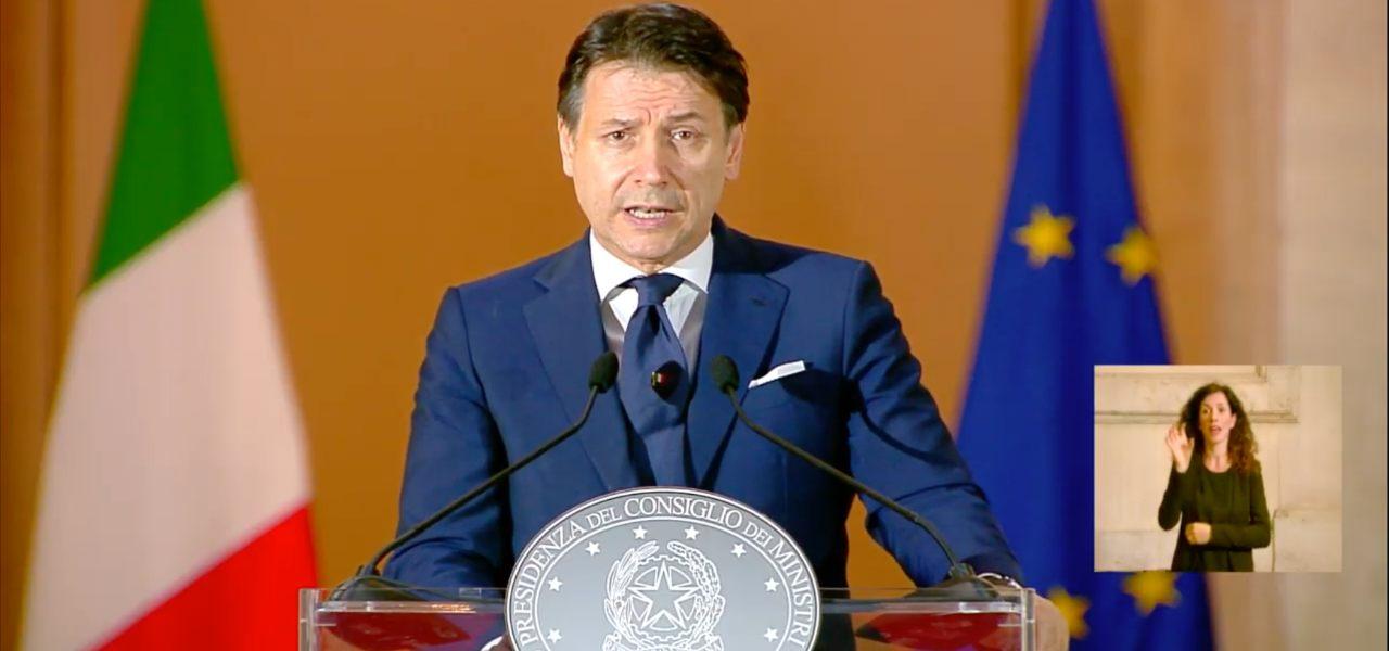 giuseppe conte conferenza stampa 16maggio