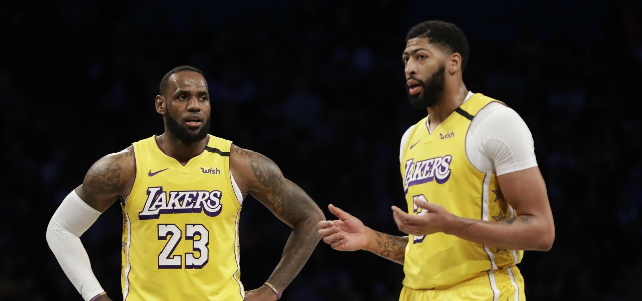 LeBron James Anthony Davis Lakers lapresse 2020