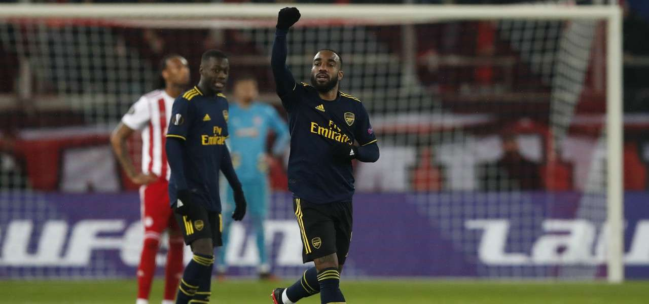 Alexandre Lacazette Arsenal gol lapresse 2020