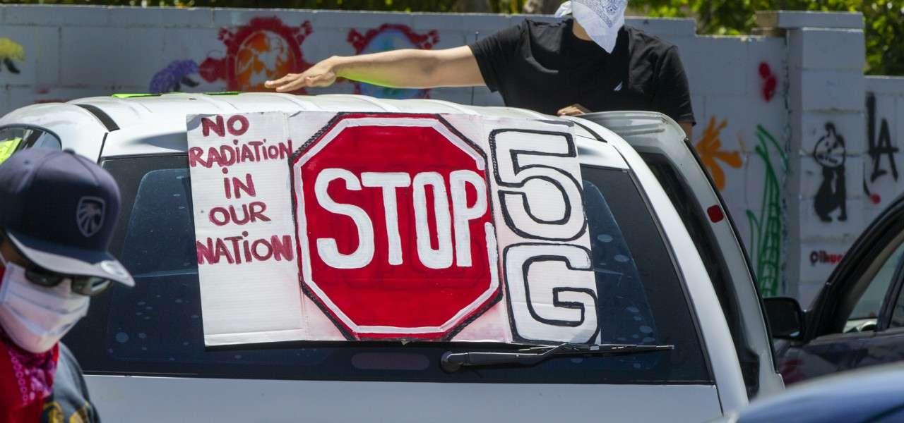 5G protesta lapresse 2020