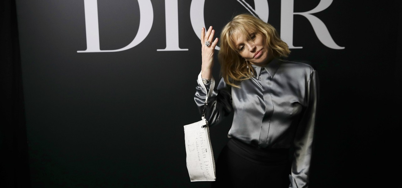 Courtney Love Dior lapresse 2020