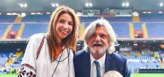 Manuela Ramunni moglie Massimo Ferrero