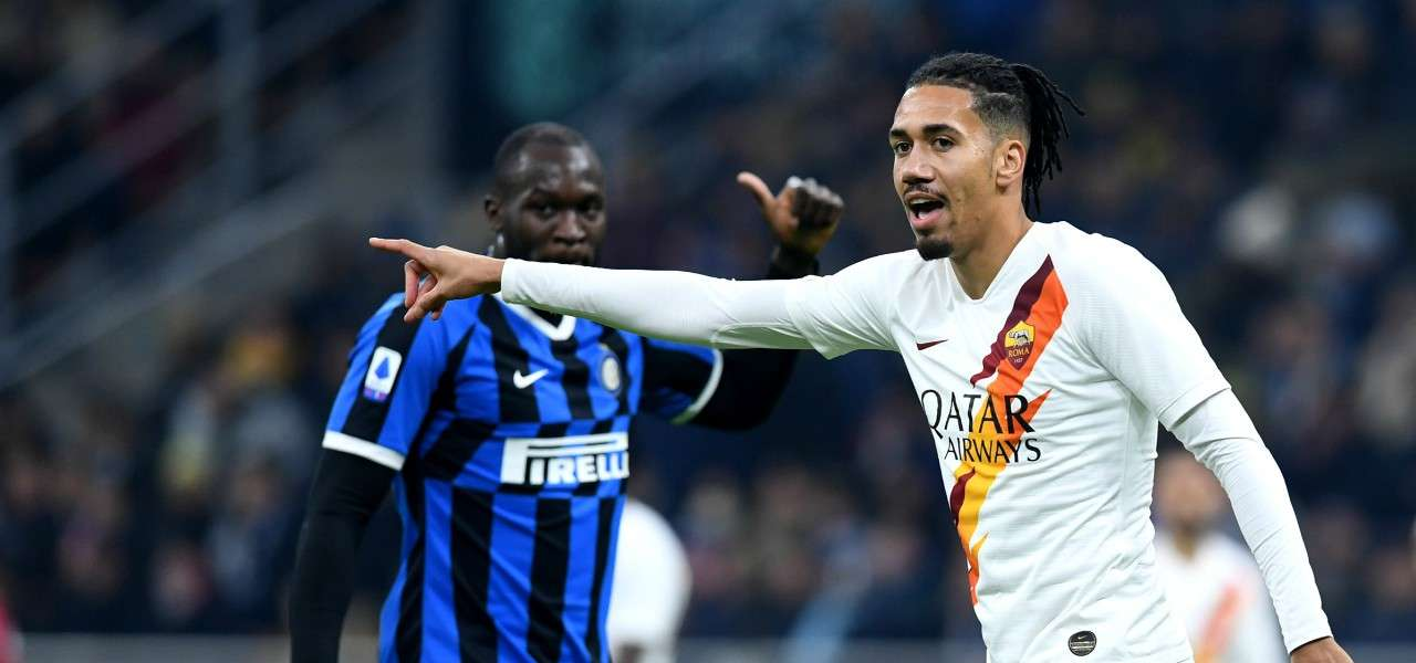 Chris Smalling Roma Inter indicazioni lapresse 2020