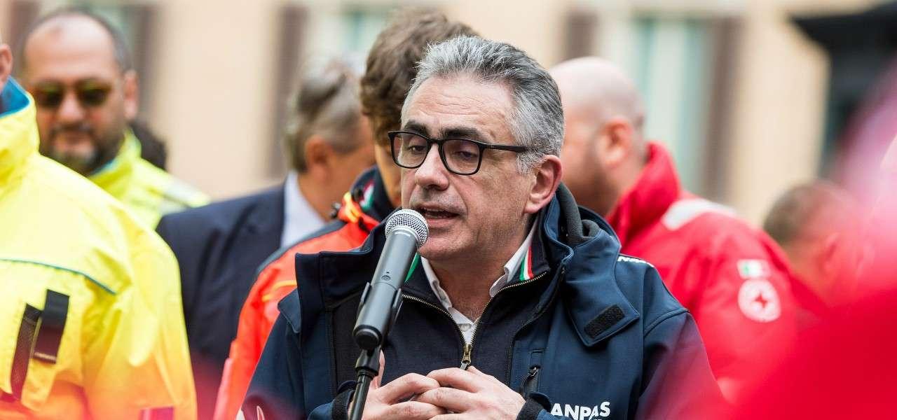 Fabrizio Pregliasco Croce Rossa lapresse 2020