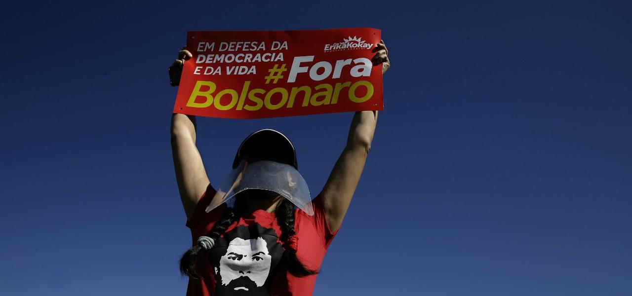 Fora Bolsonaro lapresse 2020