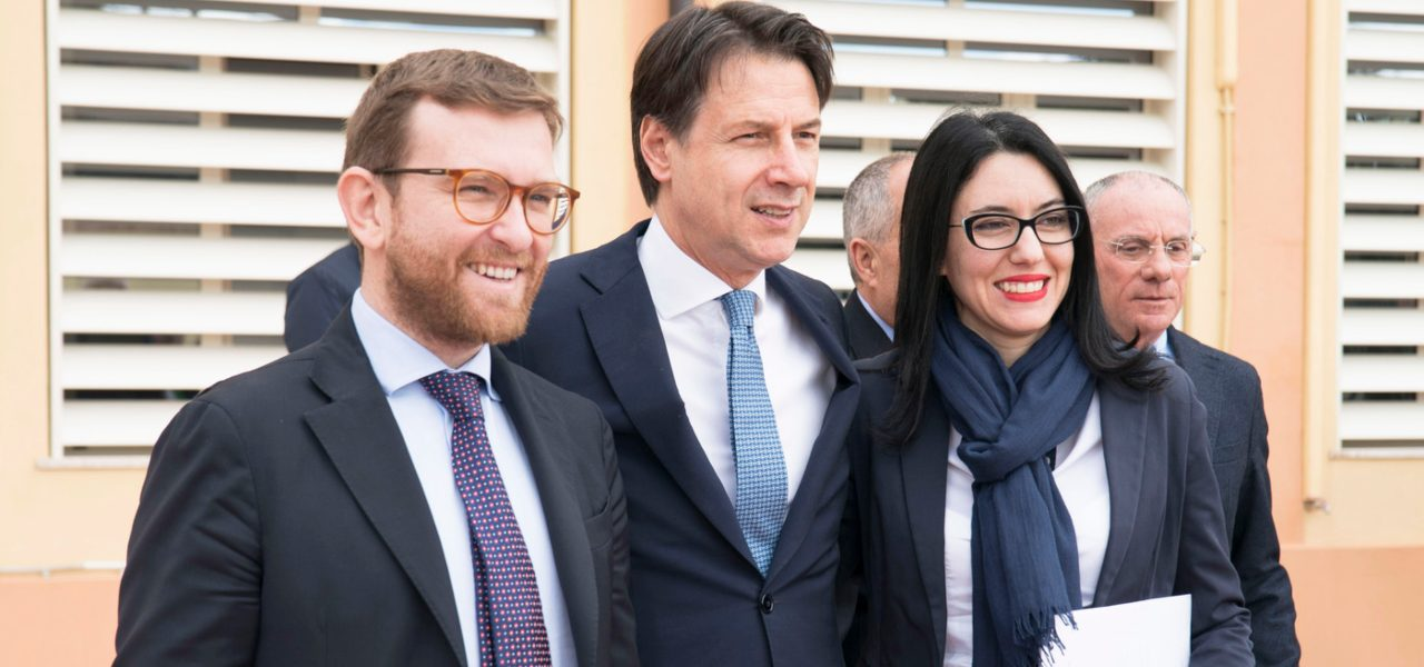 Conte, Azzolina e Provenzano