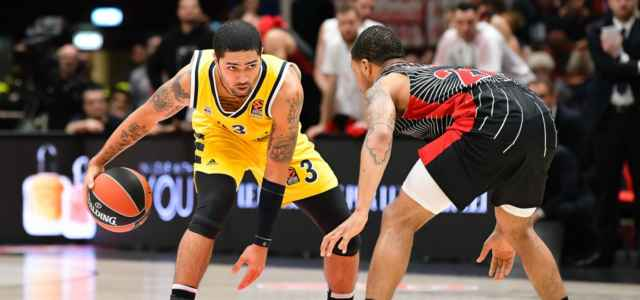 Siva Sykes Maccabi Milano Eurolega lapresse 2020 640x300