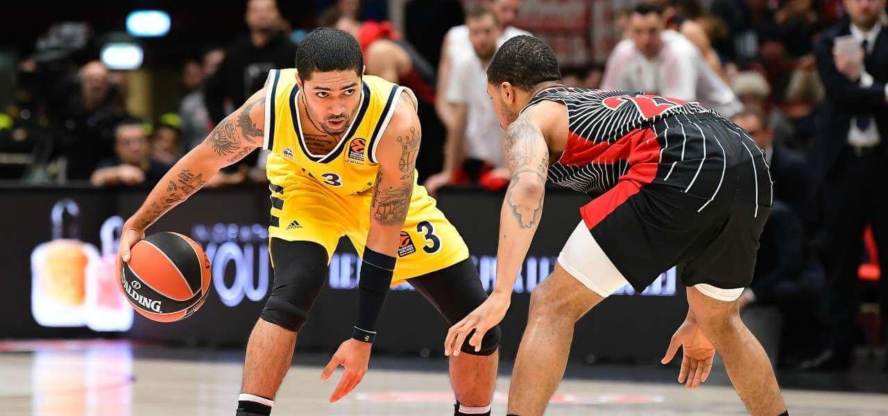 Siva Sykes Maccabi Milano Eurolega lapresse 2020