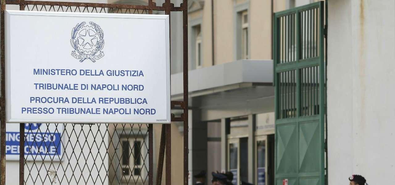 Tribunale Napoli lapresse 2020