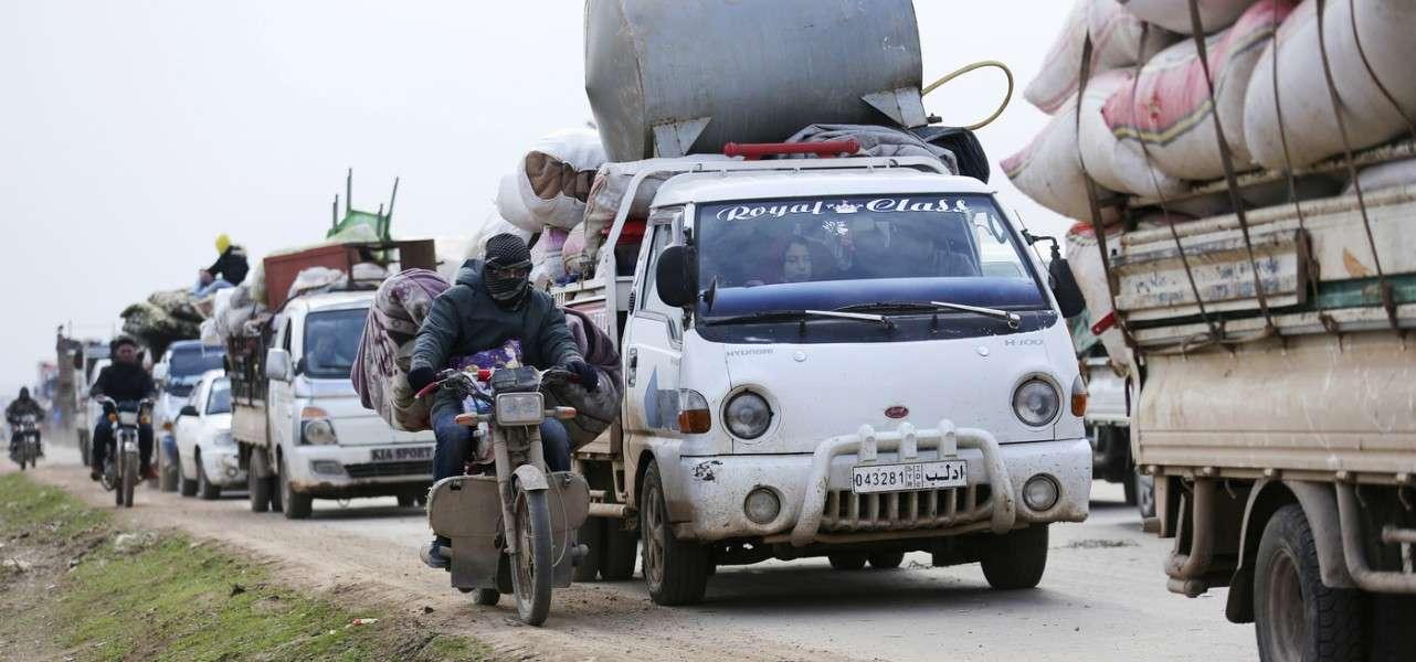 siria guerra sfollati 2 lapresse1280