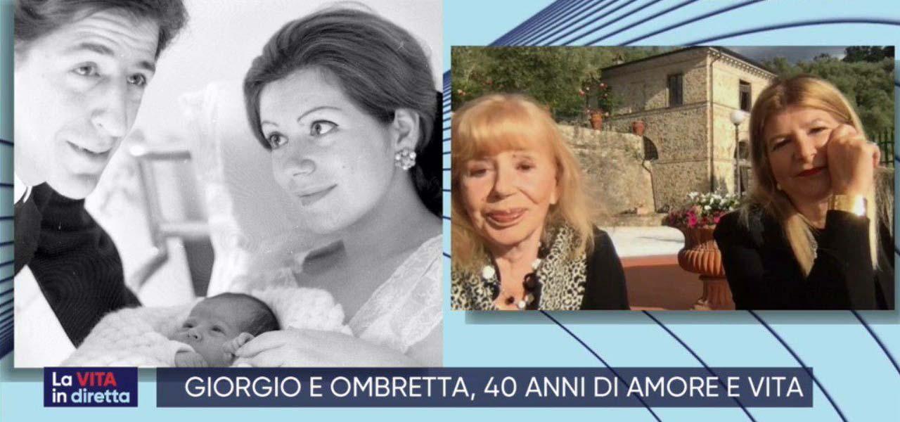 """Ombretta Colli moglie Giorgio Gaber/ """"Mai gelosa di Mina"""", figlia ..."""