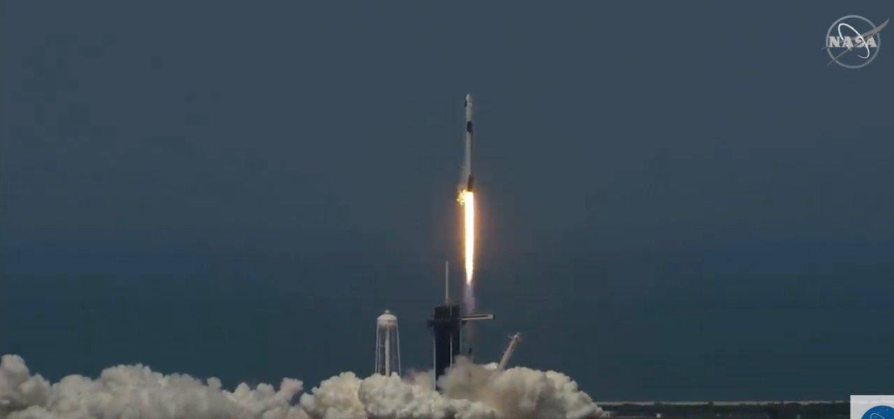spacex decollo lancio