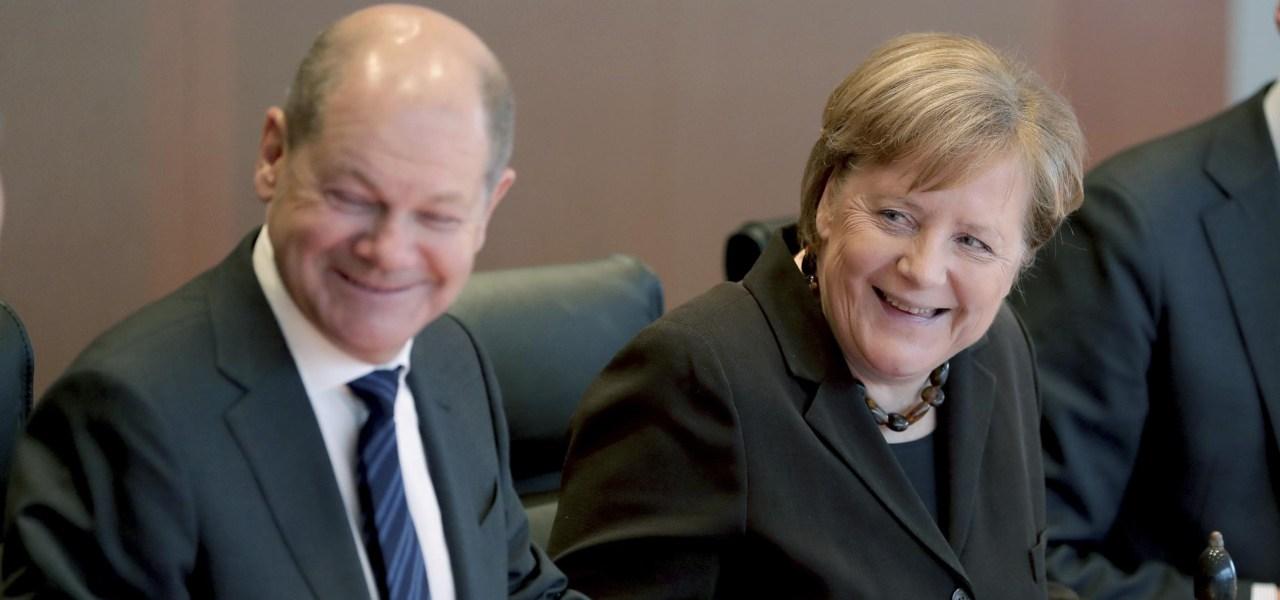 governo germania scholz merkel cdu spd lapresse 2020