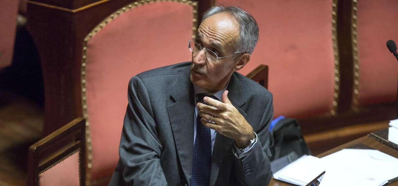 Pietro Ichino Senato lapresse 2020