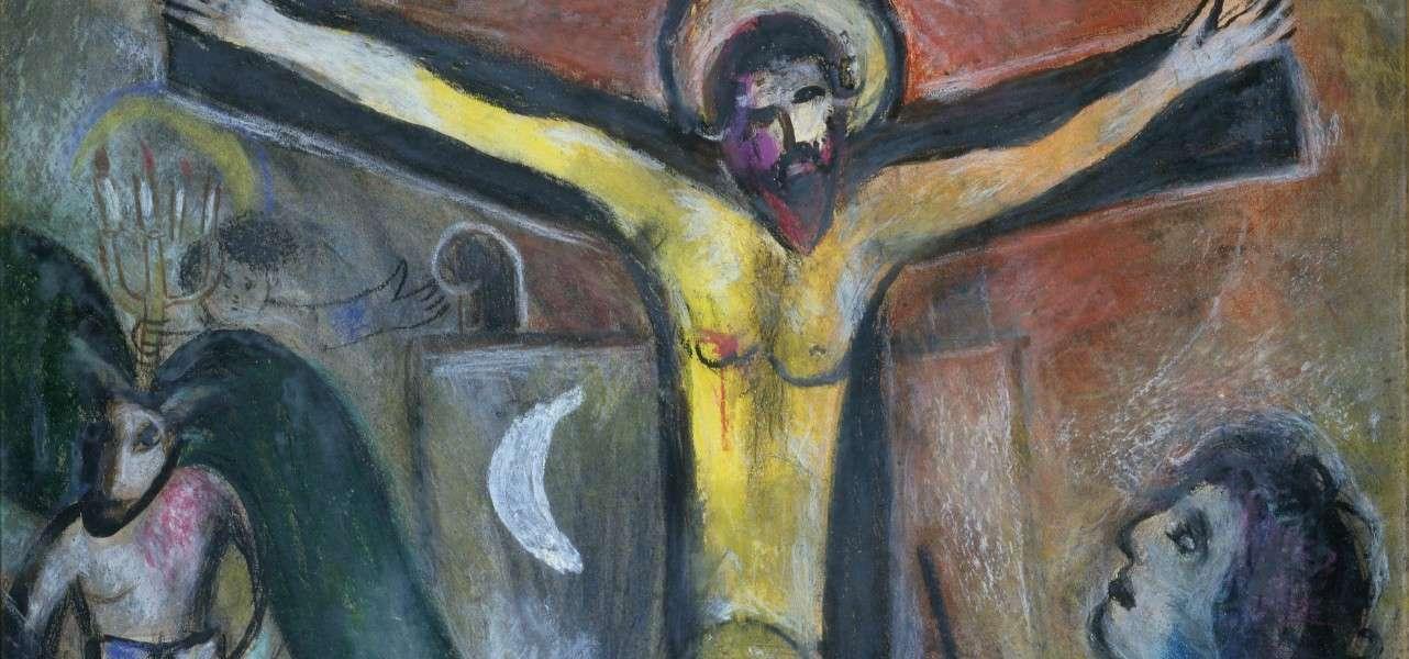 chagall cristo pittore 1951arte1280