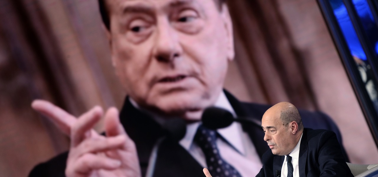 Berlusconi e zingaretti