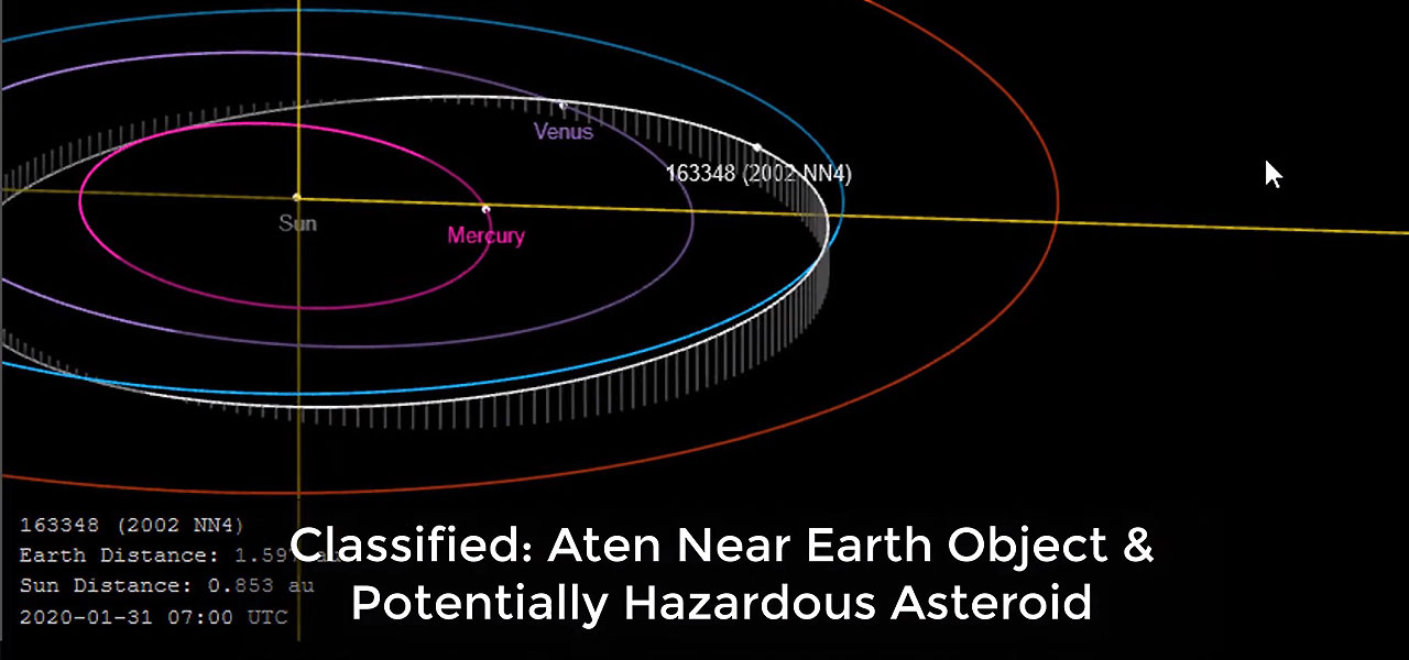 L'asteroide che 'sfiorerà' la Terra