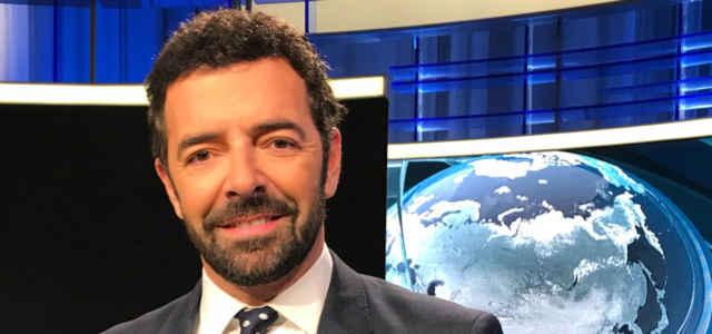 Il giornalista Alberto Matano