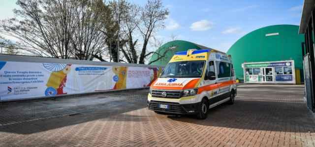 Ambulanza San Raffaele lapresse 2020 640x300