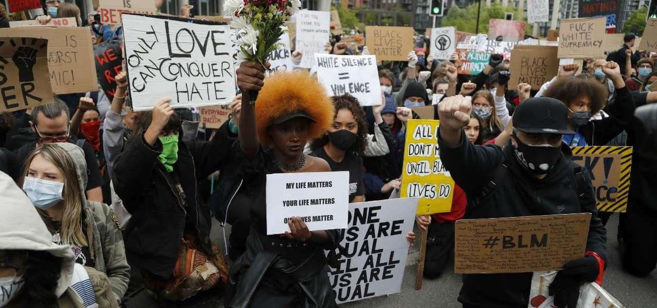 Proteste George Floyd lapresse 2020