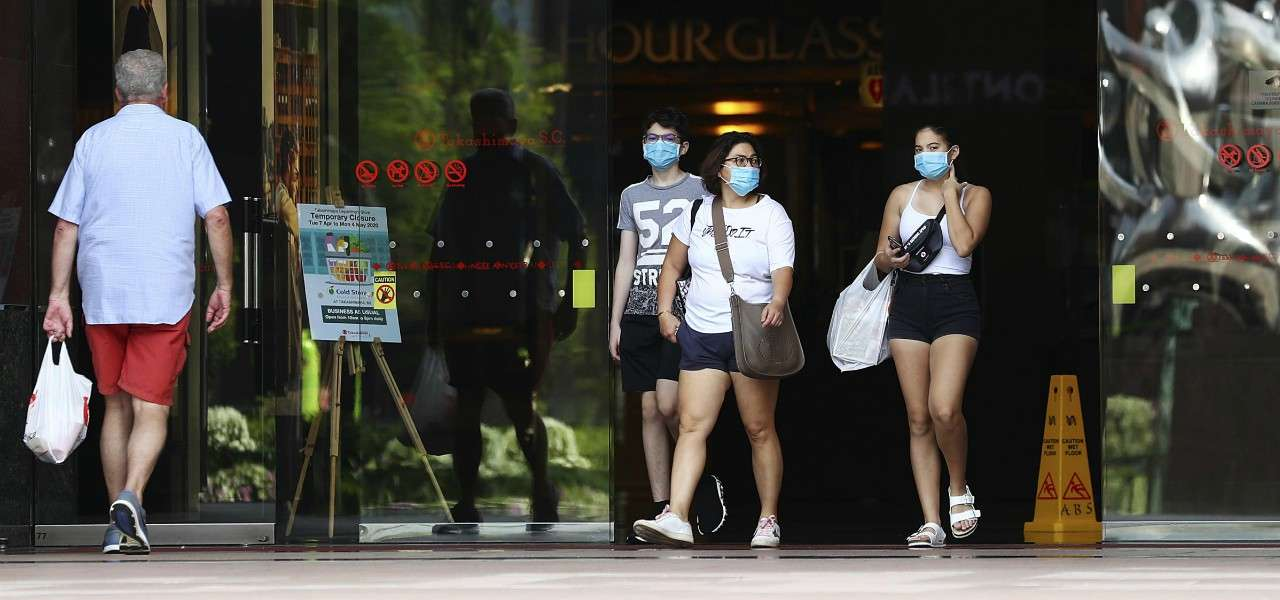 Singapore Coronavirus passanti lapresse 2020