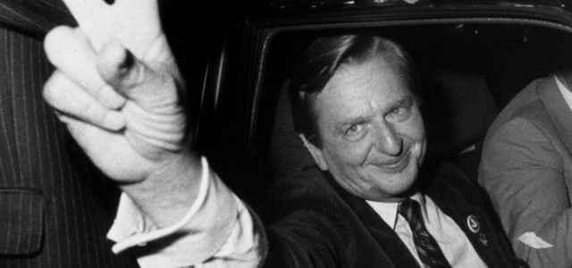 Olof Palme, in una foto dell'epoca