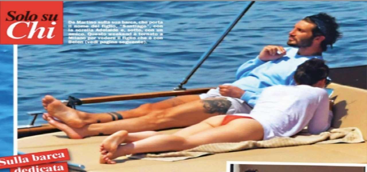 Stefano De Martino, vita da single senza Belen/ Beccato in barca a ...