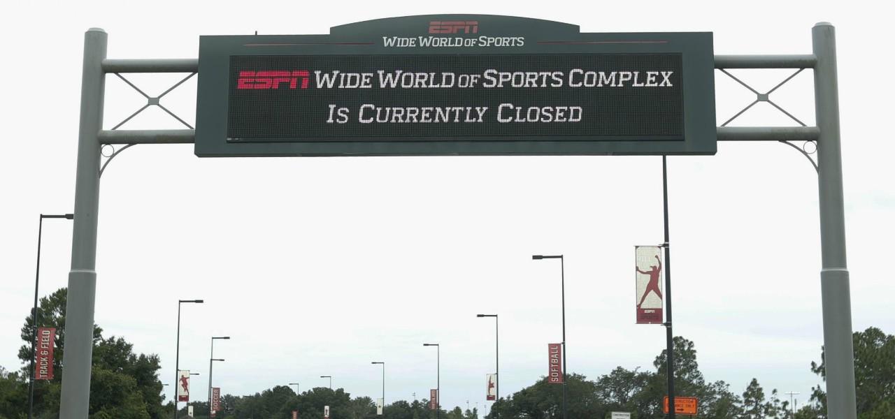 ESPN cartello Disney World lapresse 2020