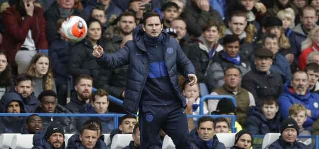 Frank Lampard Chelsea pallone lapresse 2020 640x300