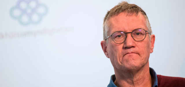 Anders Tegnell, infettivologo svedese anti-lockdown