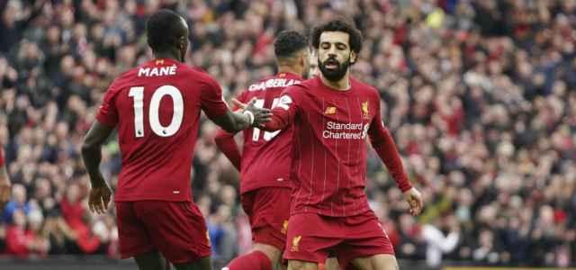 Sadio Mane Salah Liverpool gol lapresse 2020 640x300