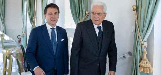 Conte e Mattarella