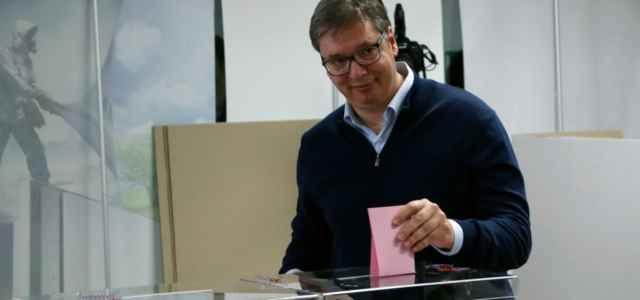 Elezioni Serbia, Vucic