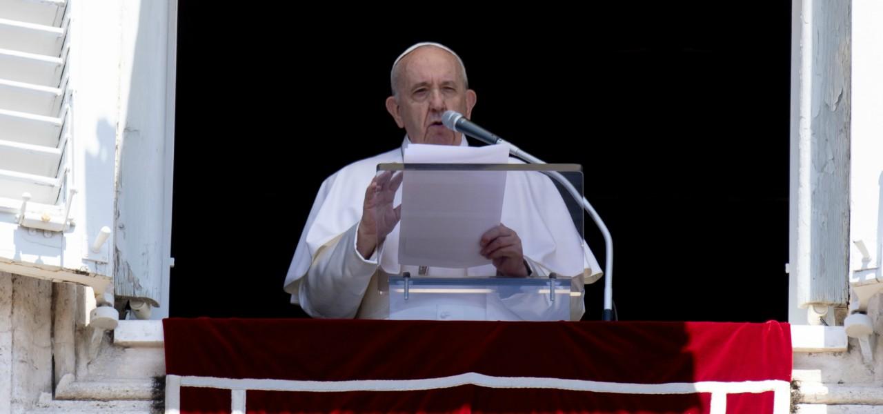 Papa Francesco Angelus lapresse 2020